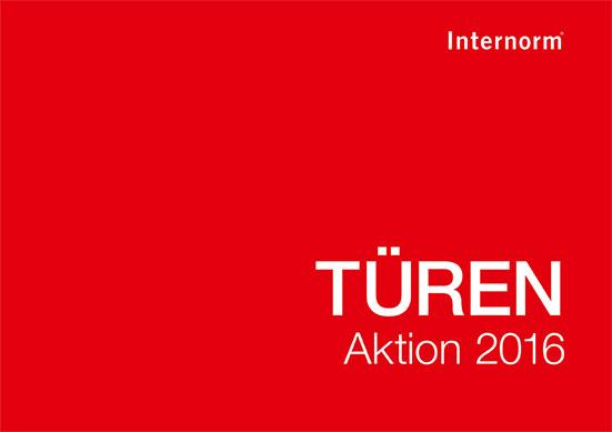 Internorm Aktion Flyer